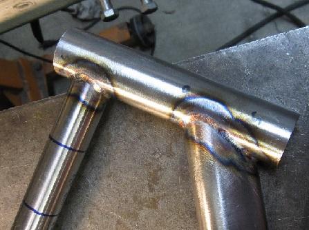 сварка деталий из труб