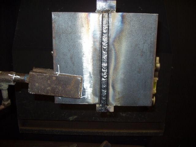 сварочный шов металла