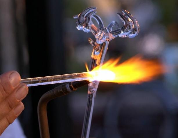 газовая сварка стекла
