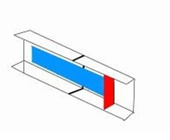 Торцевой тип скрепления металлических поверхностей, при котором боковые поверхности металлических деталей примыкают друг к другу