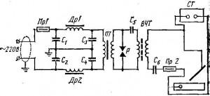 осциллятор сварочный схема