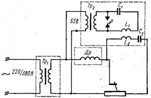 Сварочный осциллятор своими руками конструкция и 842