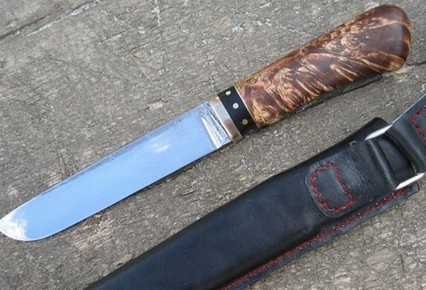 фото ножа сделаново из подшипника