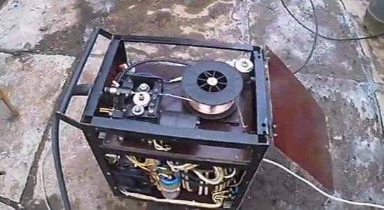Самодельные углекислотные сварочные полуавтоматы голден интерстар юнибокс 90 60скачать прошивка триколор