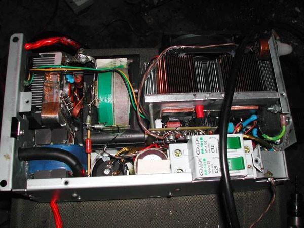 Сварочный инвертор своими руками из компьютерного блока