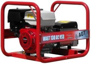 Мини электростанция с функцией сварки -  генератор AGT WAGT 130 AC HSB