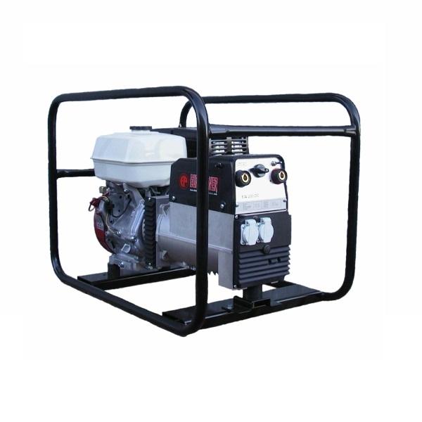 Сварочный генератор EUROPOWER EP 200 X DC,  современная электростанция, максимальная мощность которой достигает 6 кВт