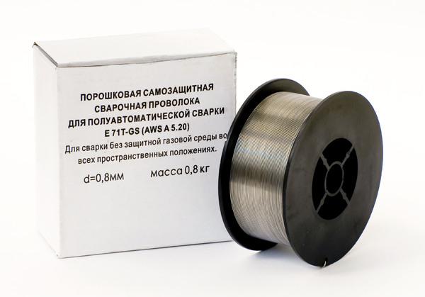 Порошковая самозащитная проволока подходит для производства соединений металлов при условиях открытого воздуха, экстремальных температурных и ветреных условиях.